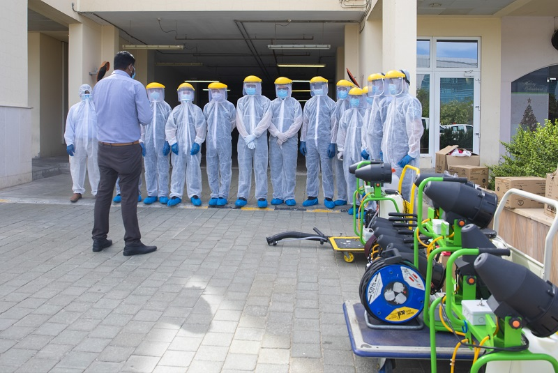 ServeU launches specialized disinfection services